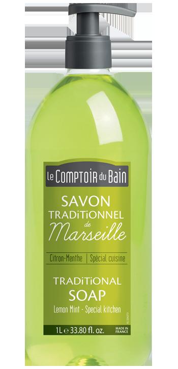 Sabonete Tradicional de Marselha Limão-Menta